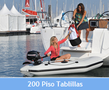 200 dinghy tablillas